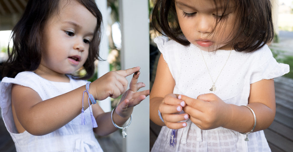 La Luna Rose Childrens Jewellery - Sterling Silver Petites Jewelry for little Girls