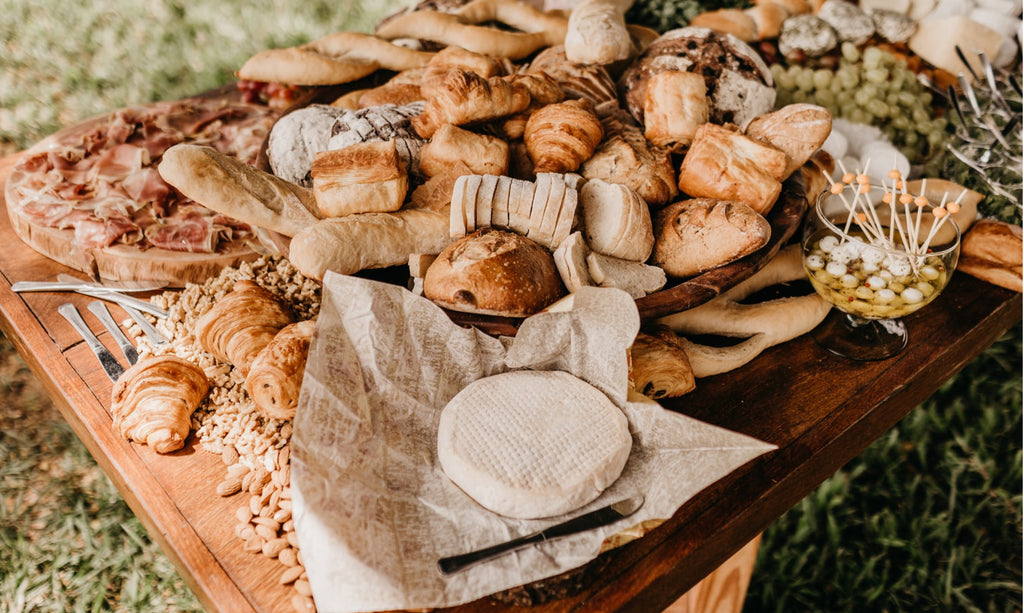 Choosing the perfect crusty bread for the best Aperitif platter