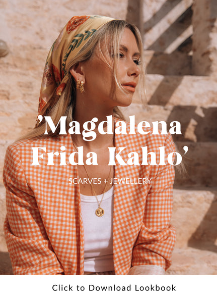 Magdalena Frida Kahlo Collection of Sustainable Jewellery