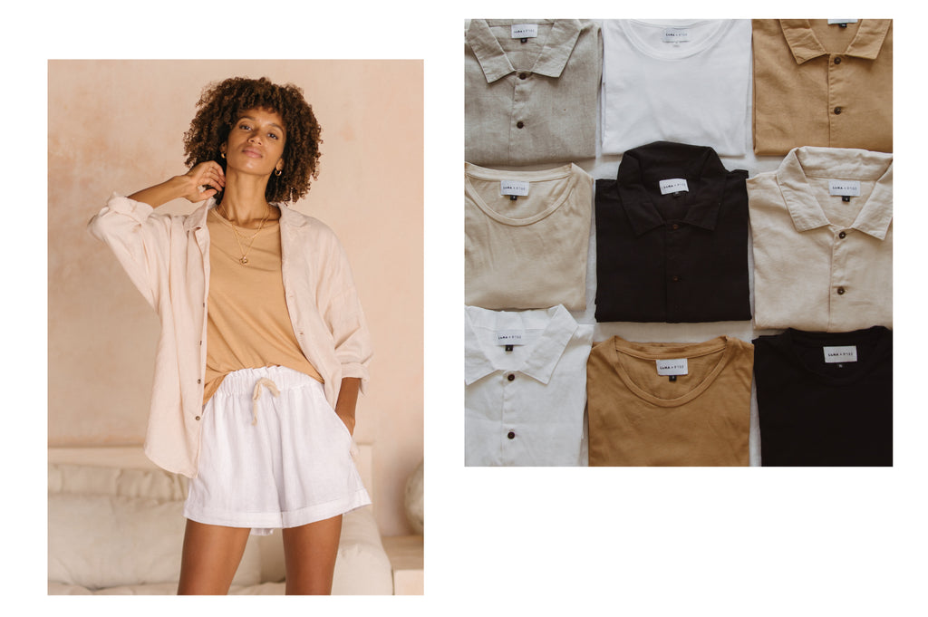 Luna & Rose plant dyed apparel clothing