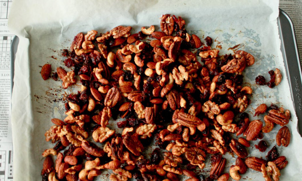 Candied Paleo Nut recipe for Christmas Gift Idea