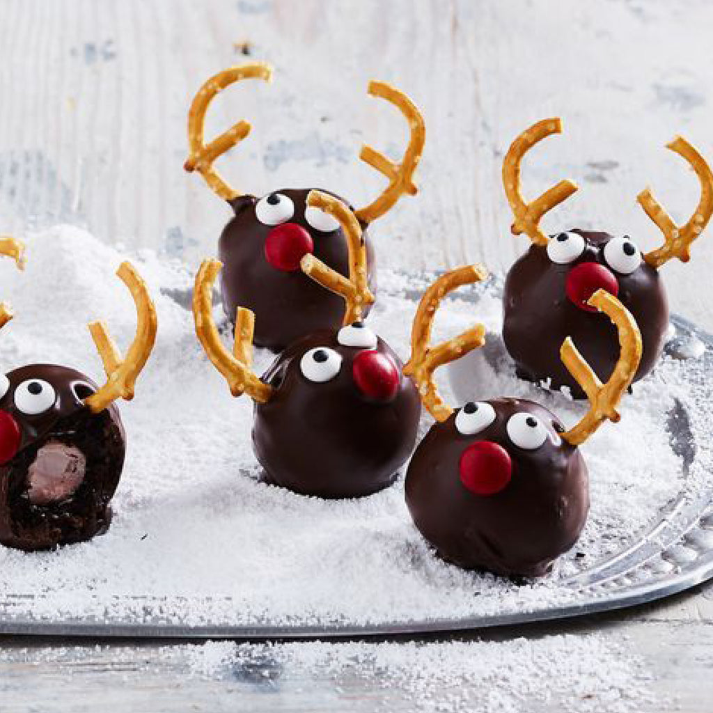 Delicious Christmas Reindeer Truffle Gift Ideas