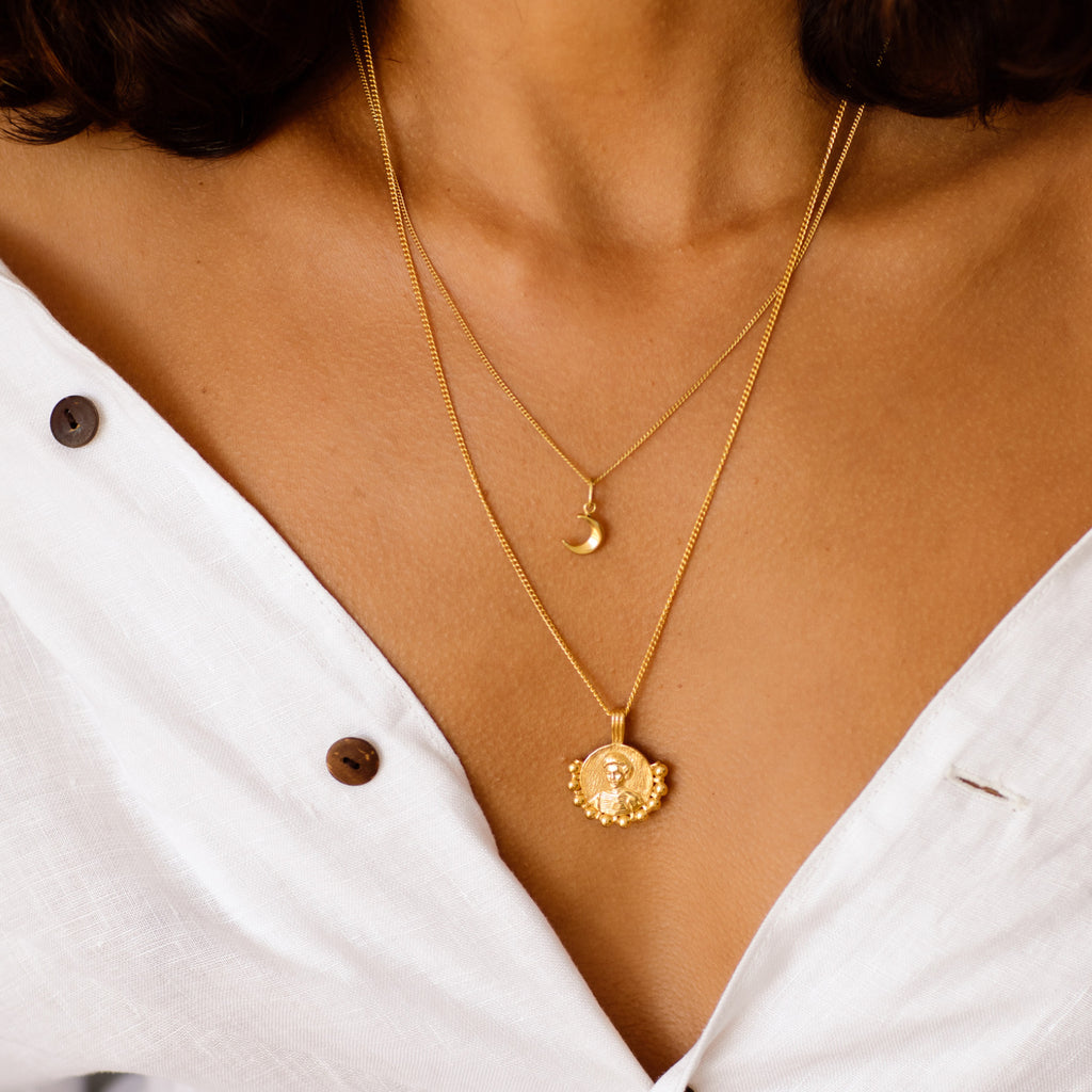 Kate Sheppard Gold Necklace