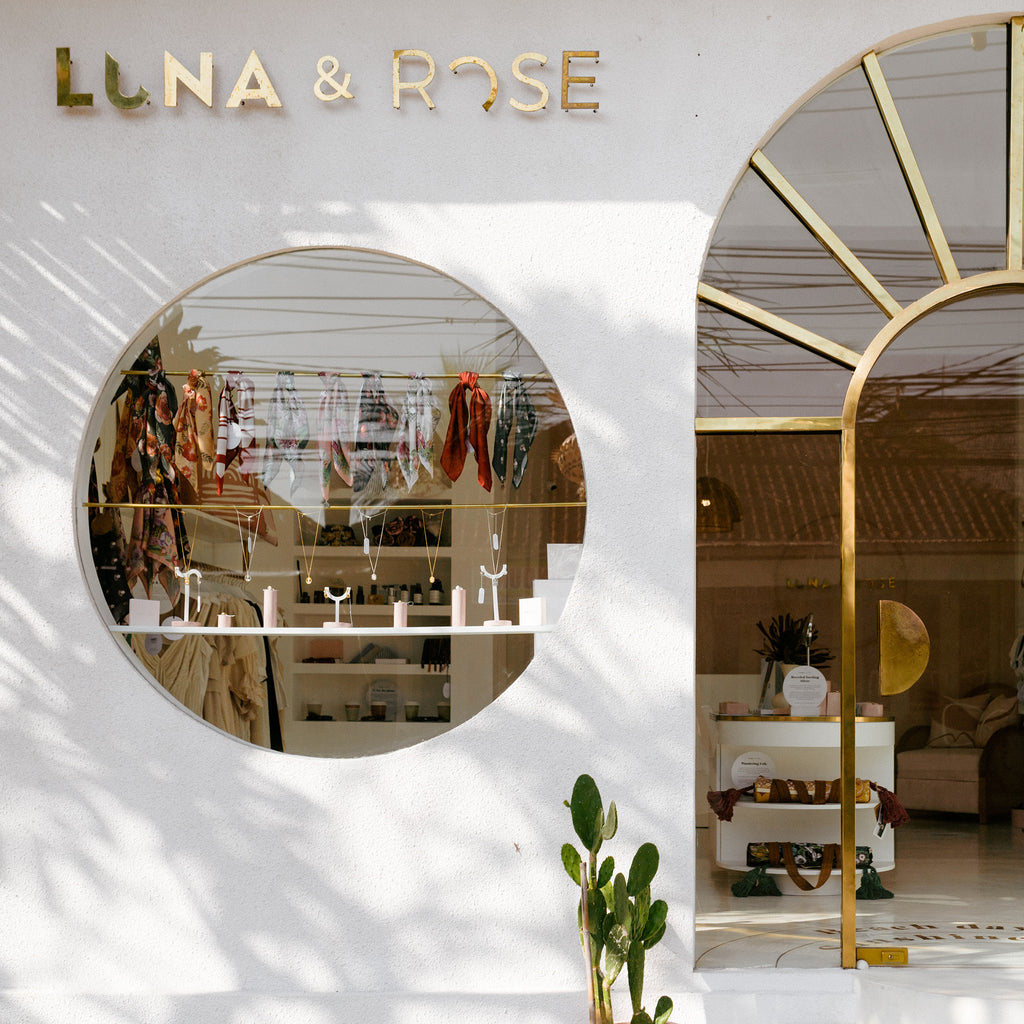 Luna & Rose Gift and accessories store in Bali, Indonesia