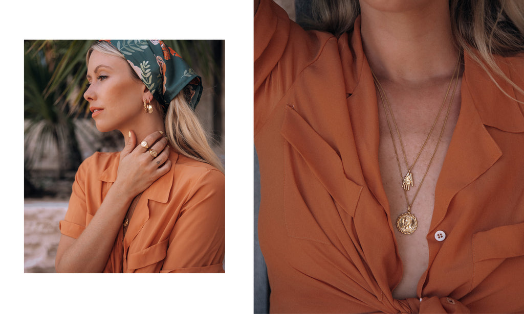 Magdalena Frida Kahlo Jewellery collection by Luna and Rose