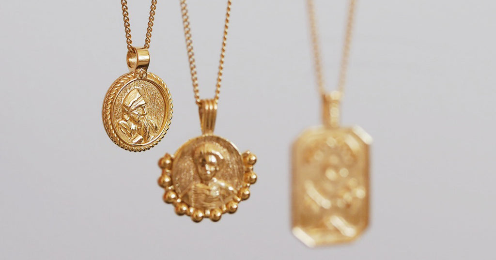Mother Teresa Gold Pendant for Compassion