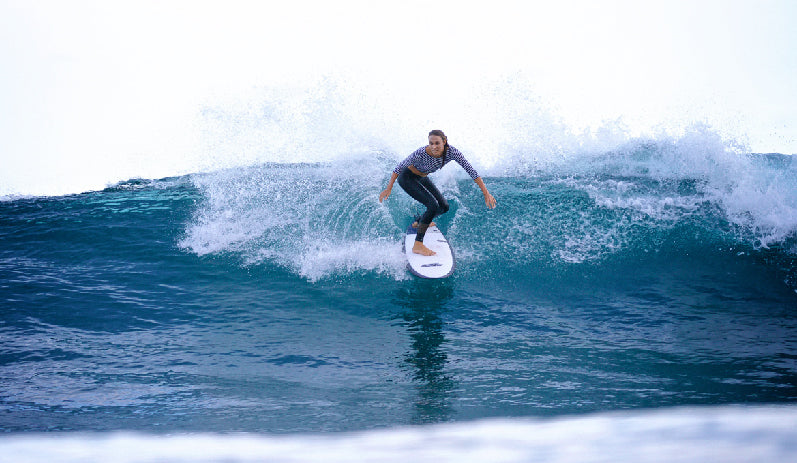 Salt Gypsy Founder Danielle Clayton Shreds in Byron Bay