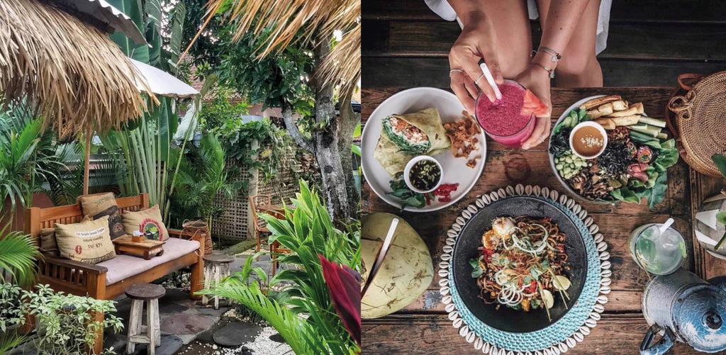 The Shady Shack in Canggu Bali Best Eats by La Luna Rose in Ubud