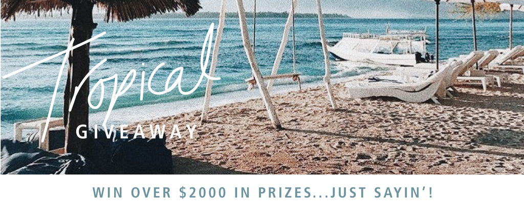 La Luna Rose Tropical Getaway to Bali - $2000 worth in prizes to be won!