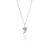 GOLDFISH KISS x LA LUNA ROSE SURF FIN NECKLACE (Silver)
