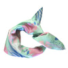 La Luna Rose Neck Scarf - Pastel Paradise Print in Green