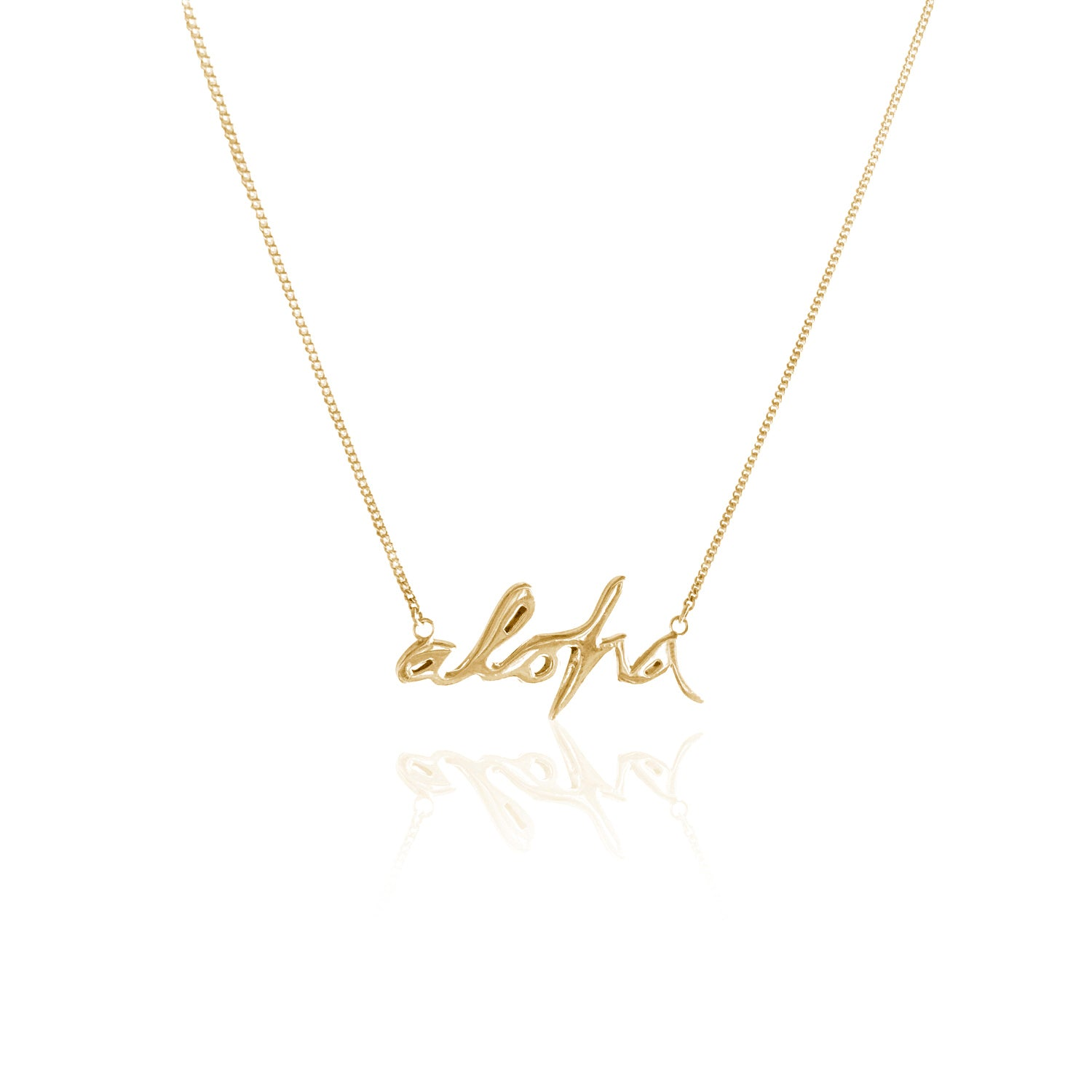 GOLDFISH KISS x LA LUNA ROSE 'ALOHA' NECKLACE (Gold)
