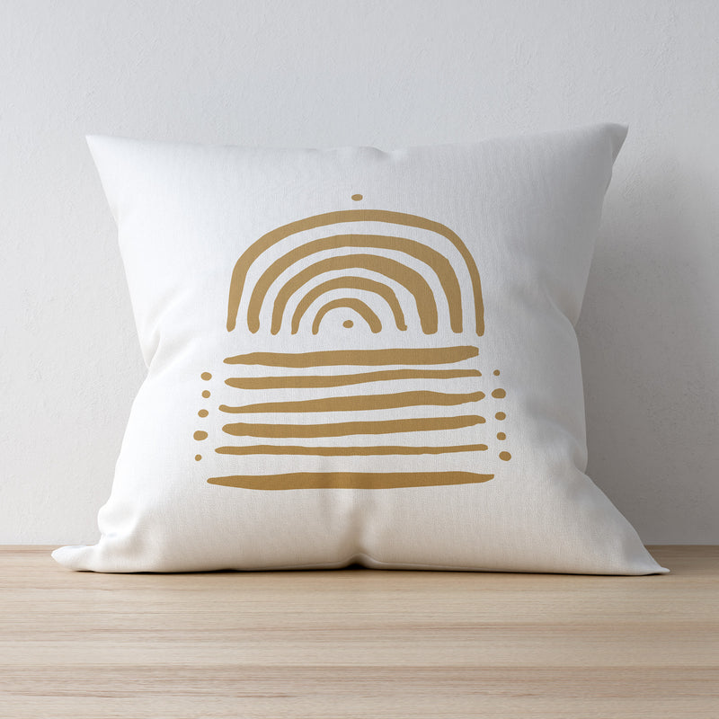 Becks Harrop Golden Days Printed Pillow Case
