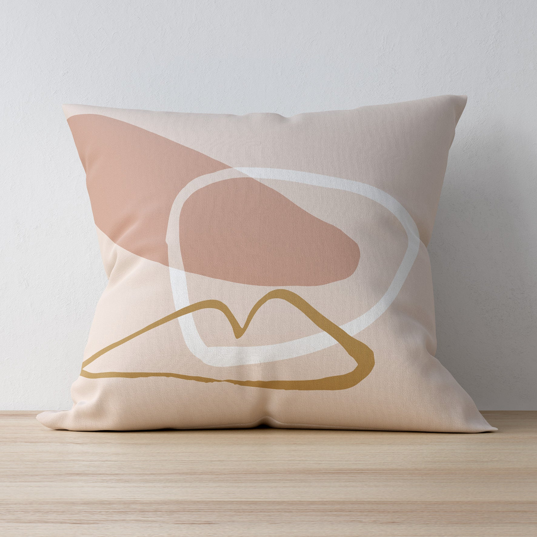 Becks Harrop - Kiss Rock Pillow Case