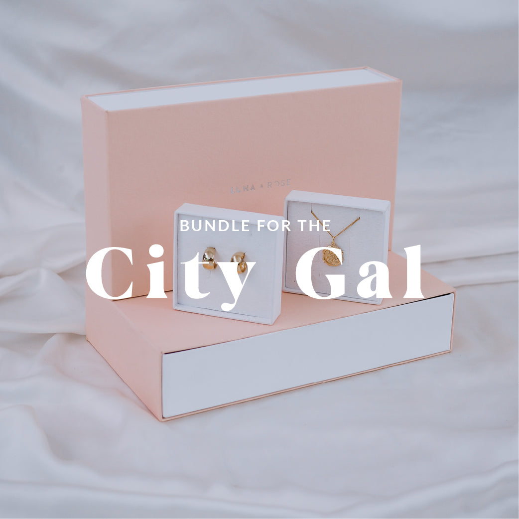 Gift Bundle for all the City Gal - Gold