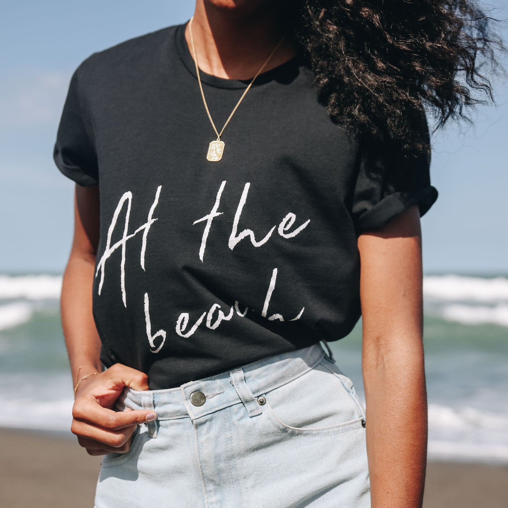 Take 3 for the Sea x La Luna Rose Charity T Shirts Black