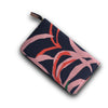 La Luna Rose Travel Wallet - Printed Blue
