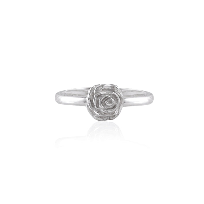 Desert Rose Ring - Silver