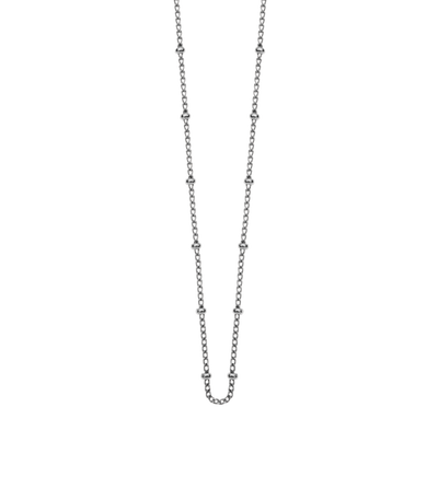 La Luna Rose Jewellery Fine Ball Fashion Chain - Silver