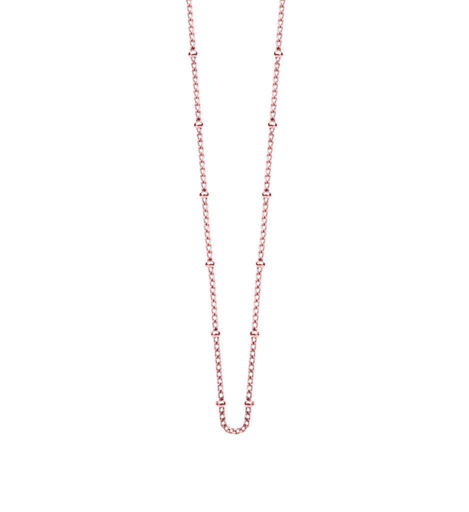 FINE BALL CHAIN - To Add Charms onto (Rose Gold)