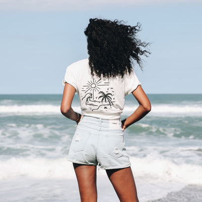 'ISLAND TIME' T-Shirt - #TAKE3FORTHESEA Project