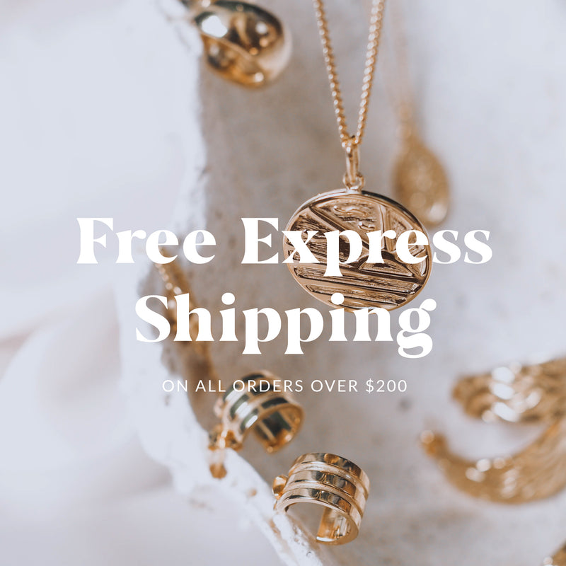 Free Express Shipping on all orders over $200