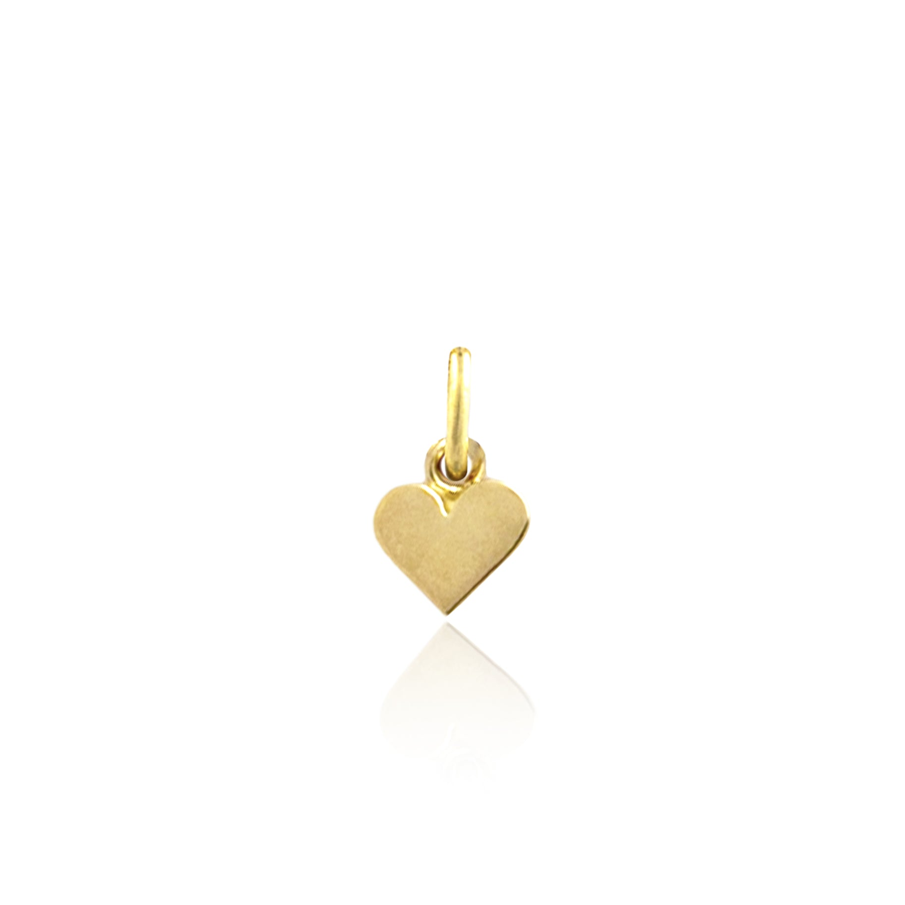 Single Heart of Gold Charm from Luna and Rose