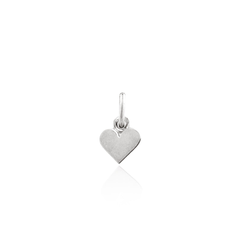 Heart of Gold Charm - (Silver)