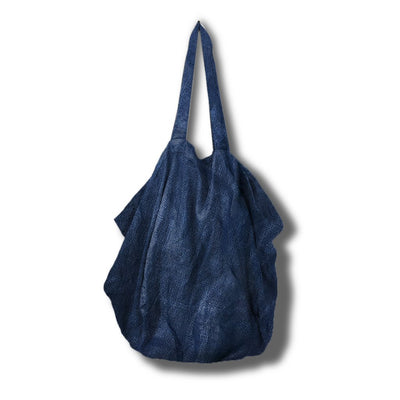 Organic Dyed Tote Bag from La Luna Rose with Internal Pocket