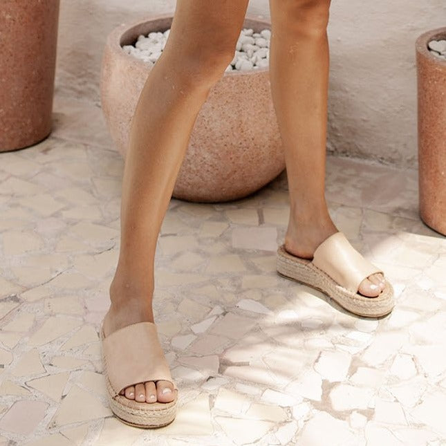 Bird & Kite Luna & Rose milos Mule sandals