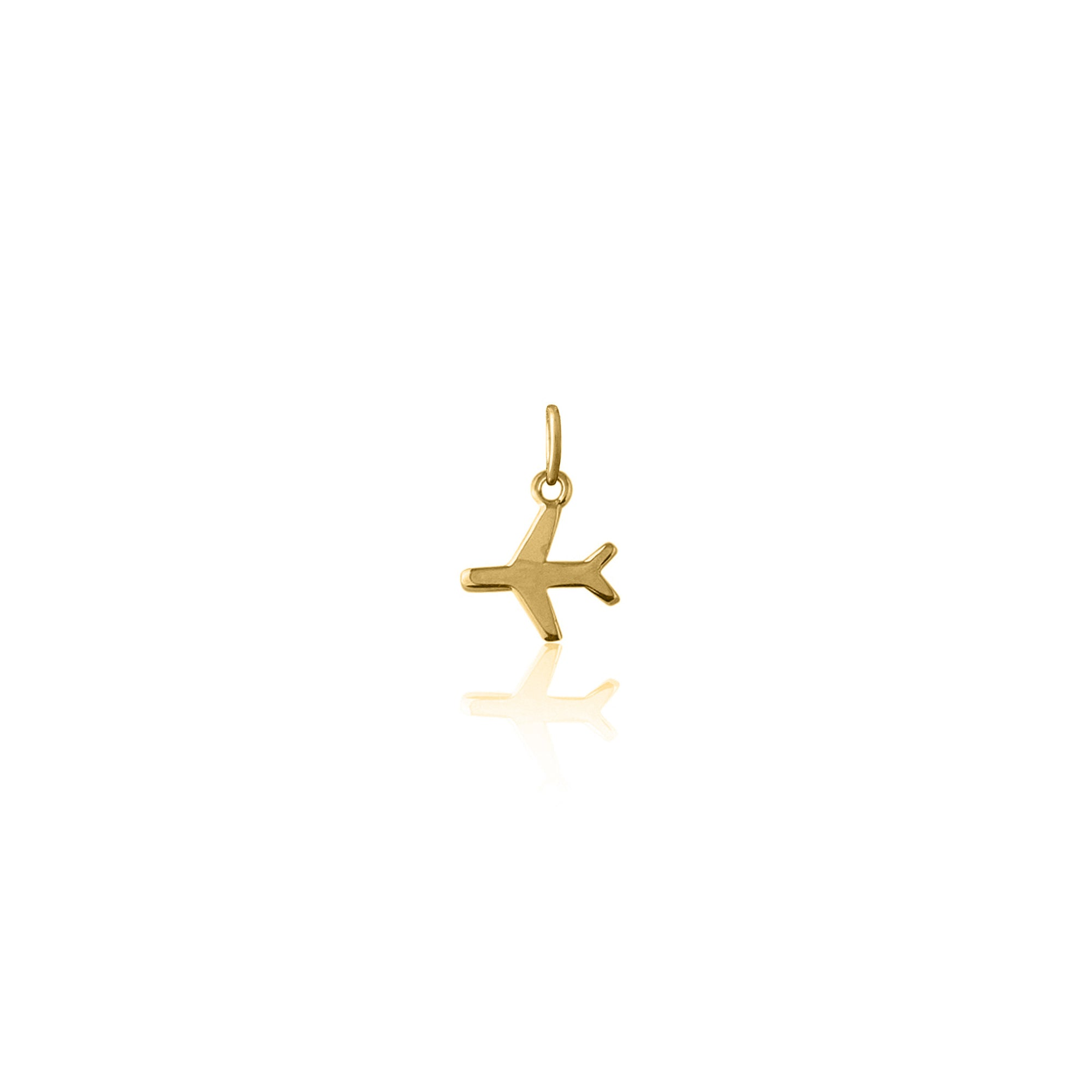 Just Plane Adventurous Charm (Gold)
