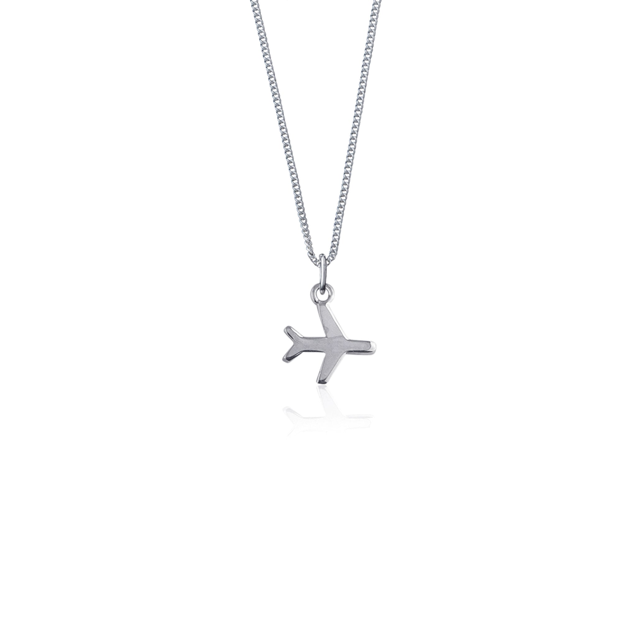 Just Plane Adventurous Necklace (Silver)