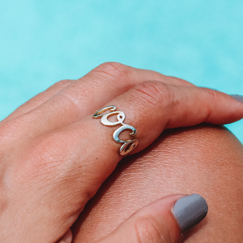 Coconut and Bliss x La Luna Rose Coco Ring - GOLD