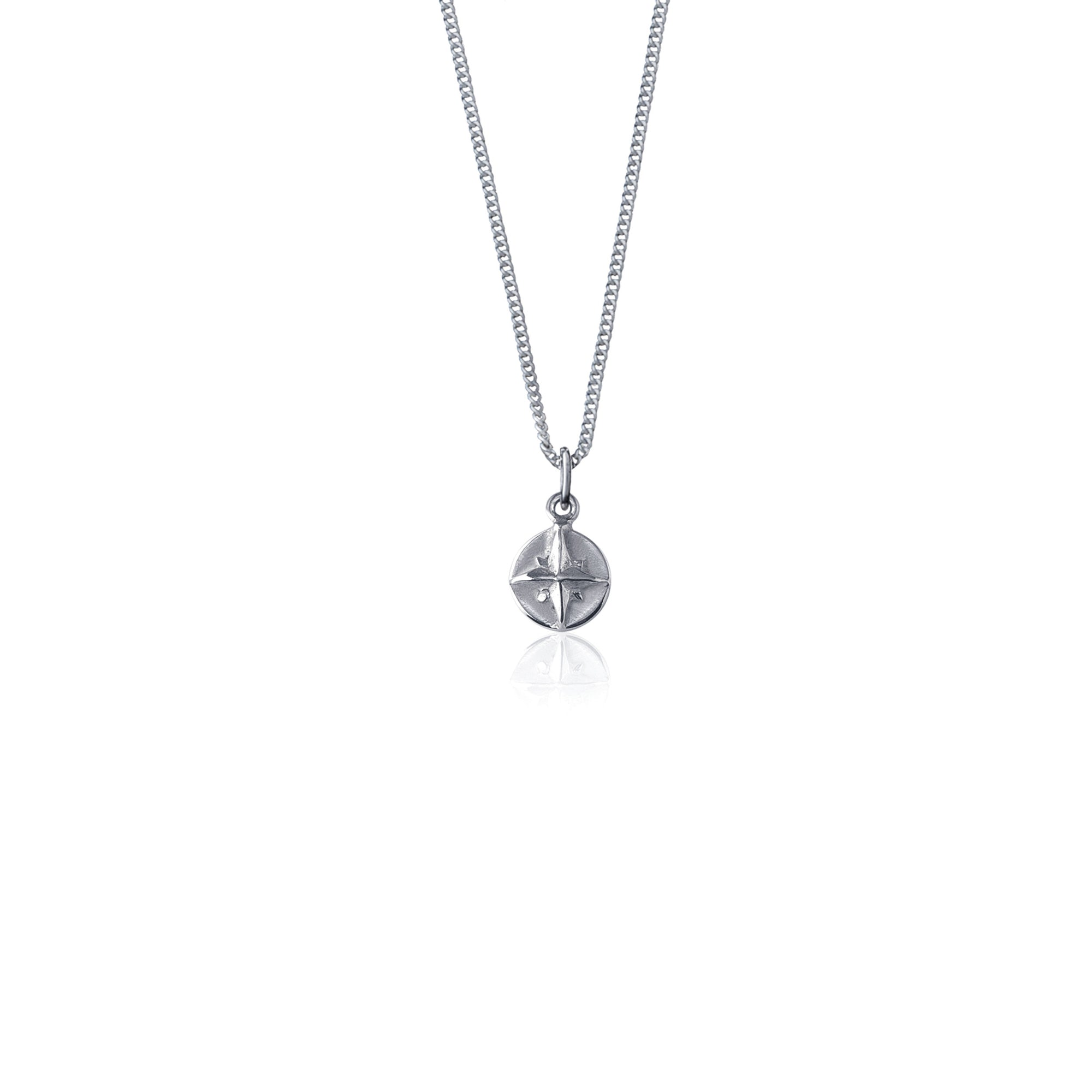Born to Roam Necklace (Silver)
