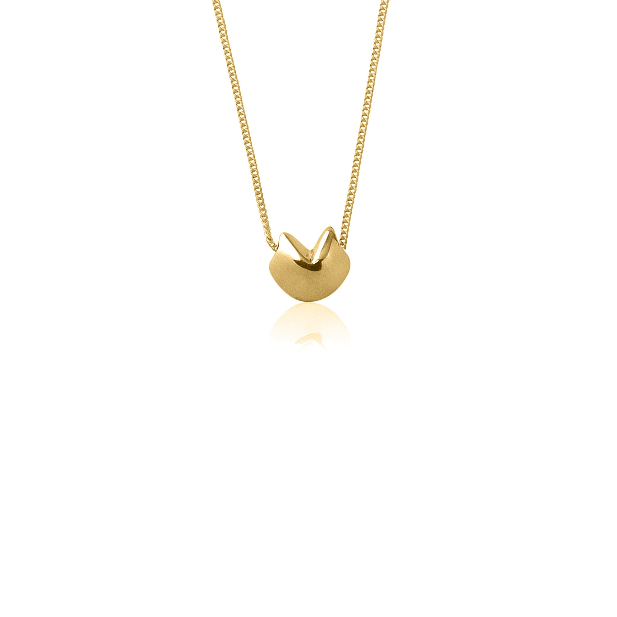 Awestruck in Luck Necklace (Gold)