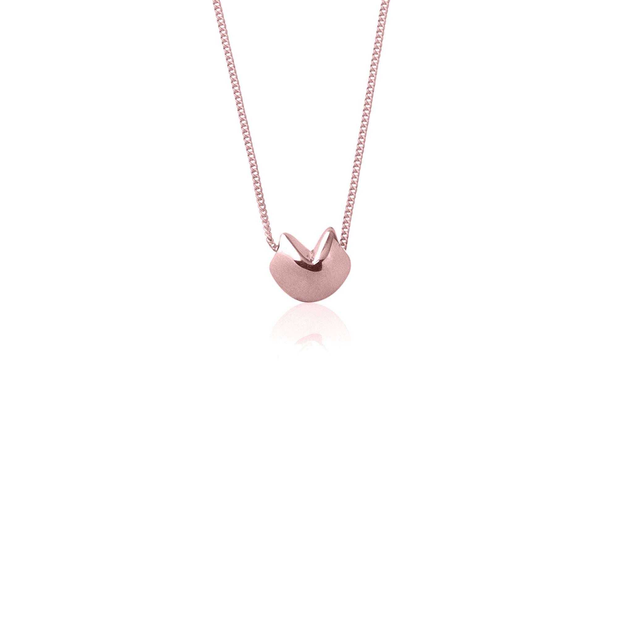 Awestruck in Luck Necklace (Rose Gold)