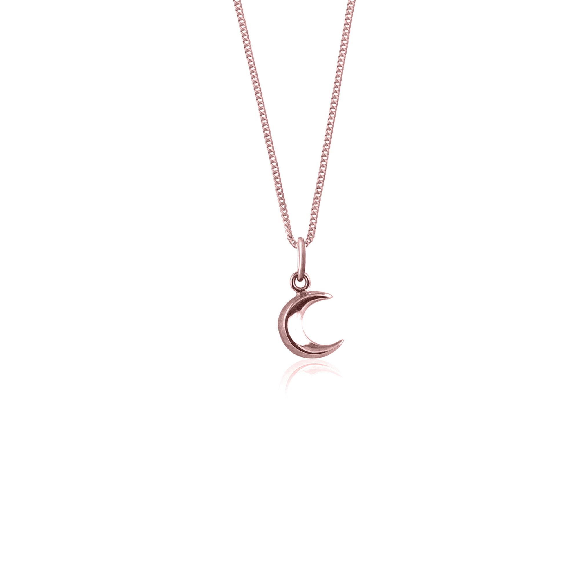 To The Moon and Back - Moon Charm Necklace