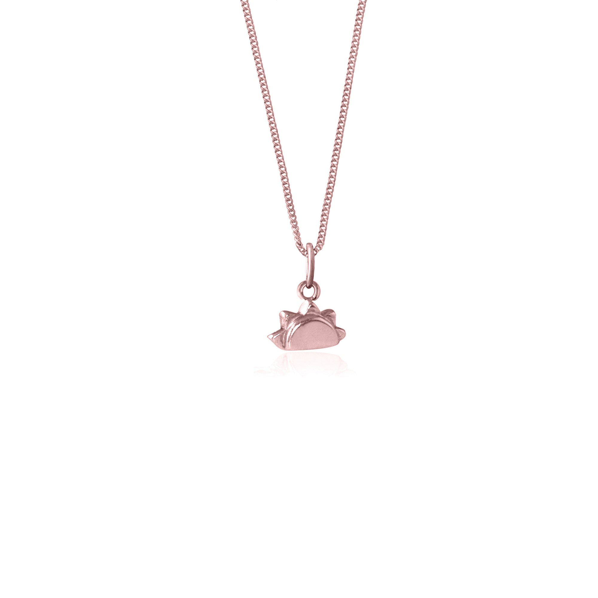 La Luna Rose 'See you at Sunrise' Necklace - Rose Gold