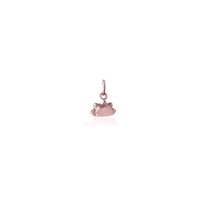 Rose Gold See you at Sunrise Charm
