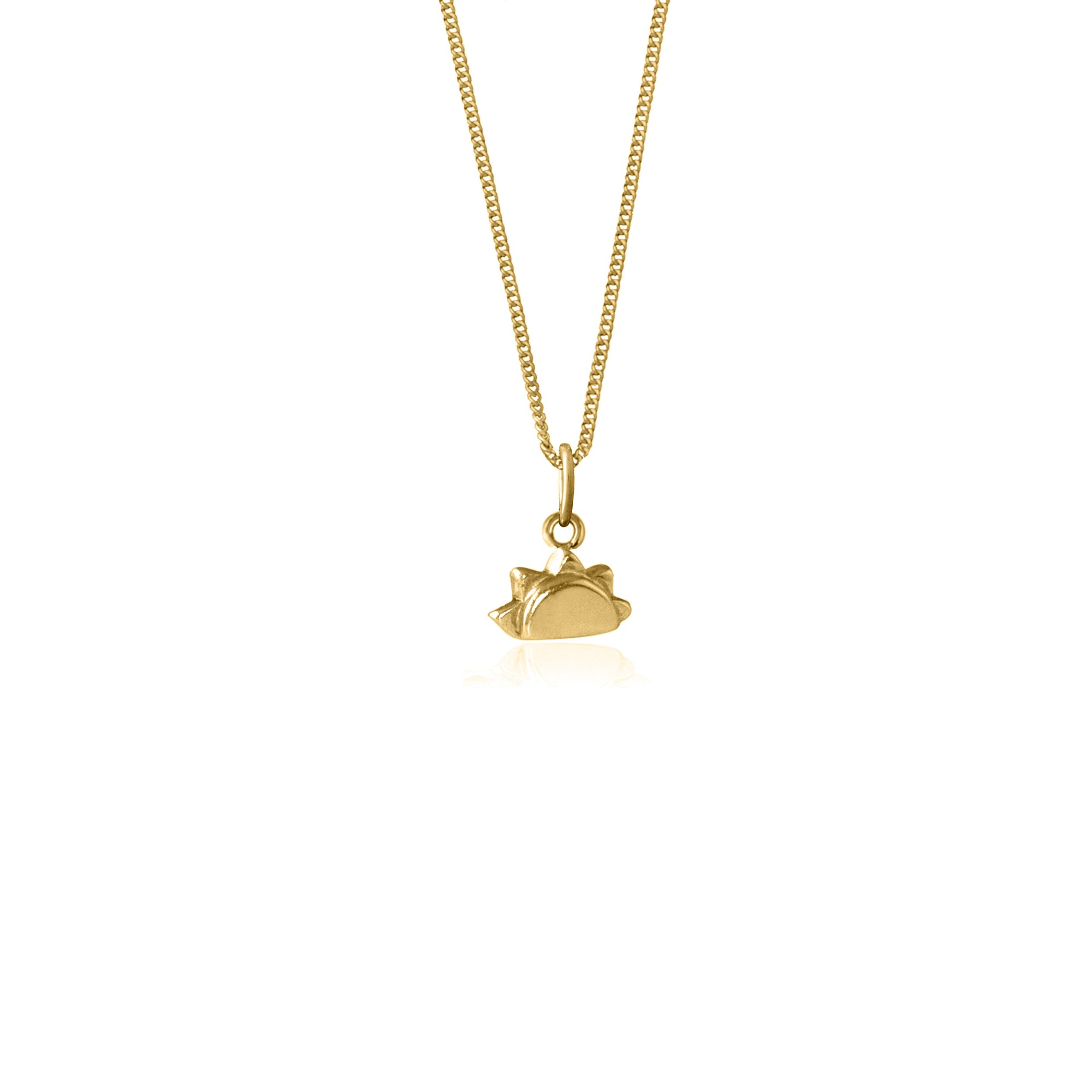 La Luna Rose 'See you at Sunrise' Necklace - Yellow Gold