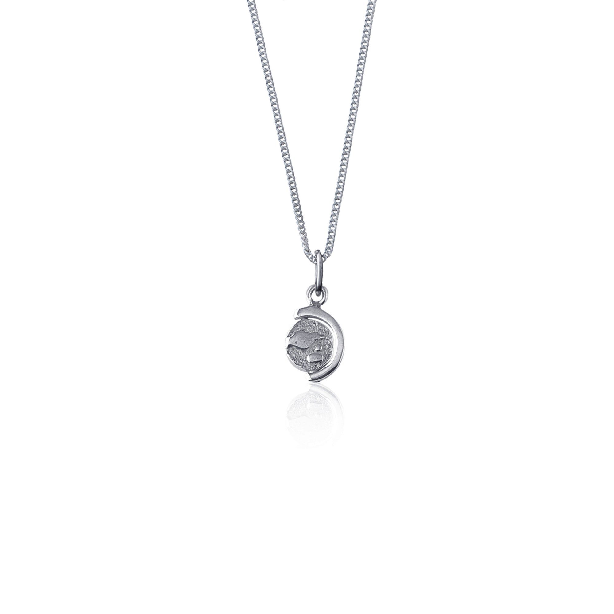 Globetrotter Necklace (Silver)