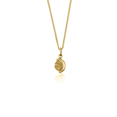 Globetrotter Charm Necklace - Gold
