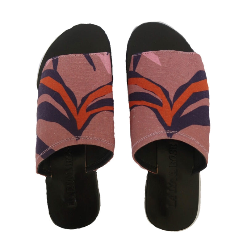 SUSAN SANDALS - PENIDA PALM 'BLUSH'