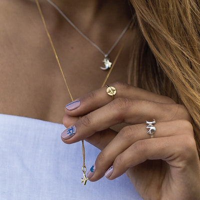 Necklace Stacking - La Luna Rose Bon Voyage Collection