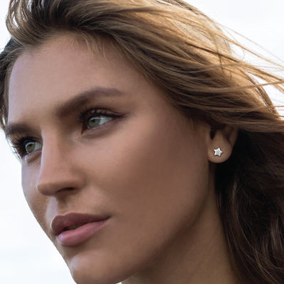 Star Stud Earrings - La Luna Rose Jewellery Bon Voyage Collection