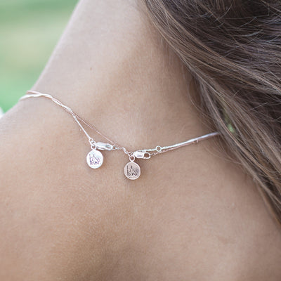 La Luna Rose Necklace Charms - Bon Voyage Collection