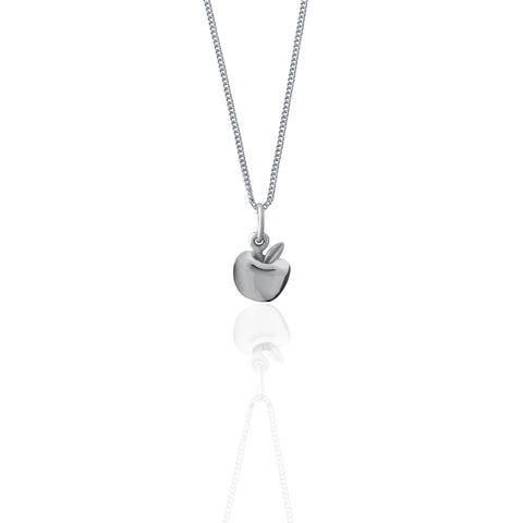 La Luna Rose Jewellery - Apple of My Eye Necklace - Silver