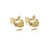 Apple of my Eye Earrings (Gold)