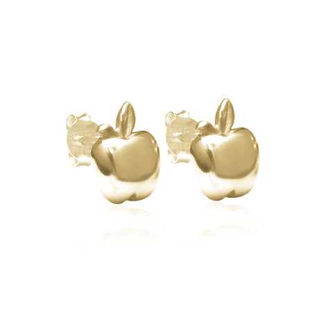 La Luna Rose Jewellery - Apple of my Eye Earrings - Gold