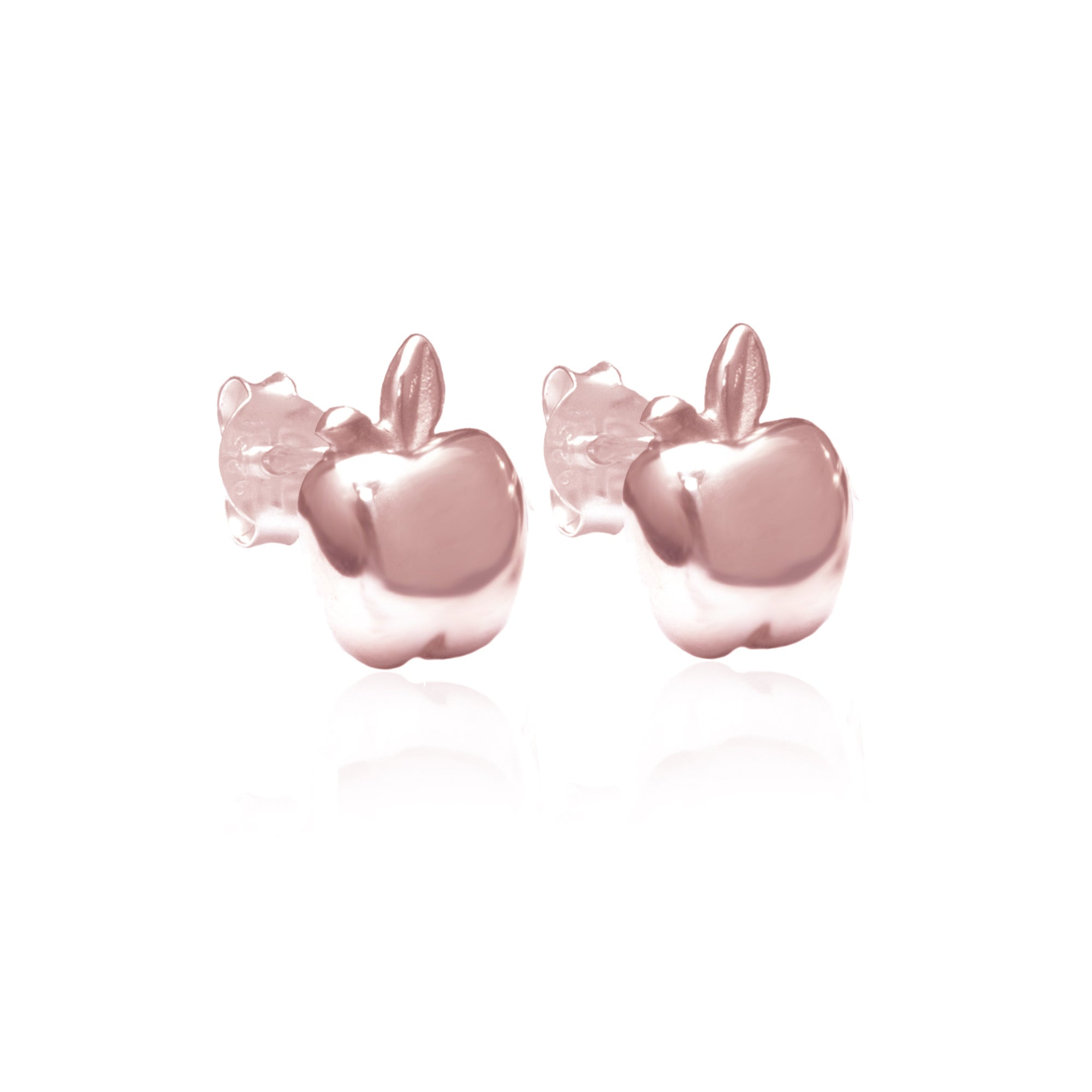 La Luna Rose Jewellery - Apple of My Eye Earrings - Rose Gold